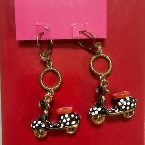 Betsey Johnson Scooter Earrings